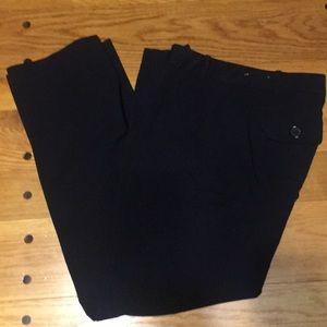 Black Modern Fit Dress Pants